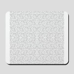 Tiny Doodle Dots Mousepad