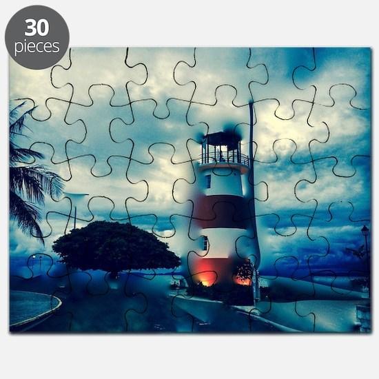 Cute Light houses Puzzle
