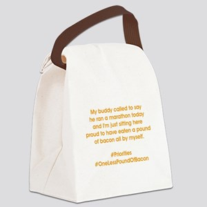 #PRIORITIES Canvas Lunch Bag