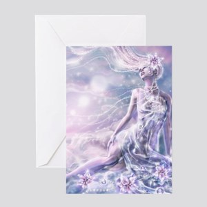 Sparkling Dream Queen Greeting Card