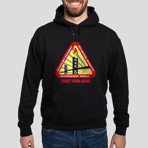 Personalized Starfleet Academy Emblem Dark Hoodie