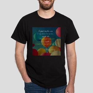 A Good Teacher Quote T-Shirt