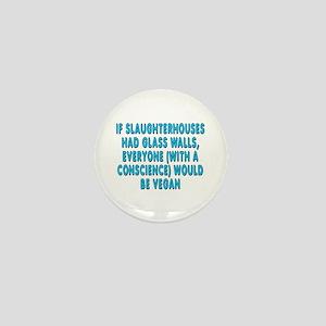If slaughterhouses - Mini Button