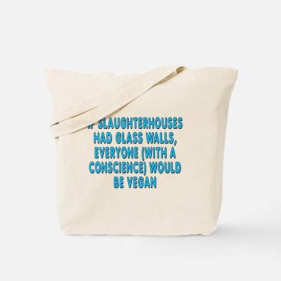 If slaughterhouses - Tote Bag