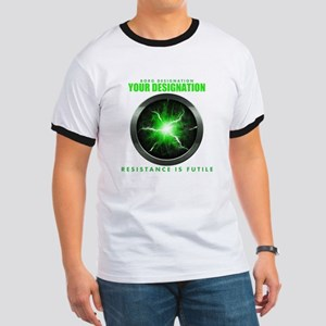 Personalized Star Trek Borg Alcove Ringer T-Shirt