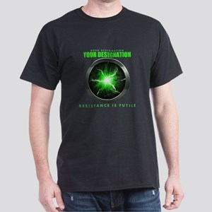 Personalized Star Trek Borg Alcove Dark T-Shirt