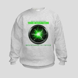 Personalized Star Trek Borg Alcove Kids Sweatshirt