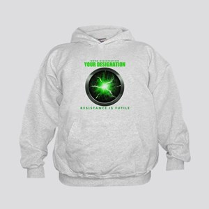 Personalized Star Trek Borg Alcove Kid's Hoodie