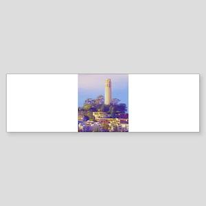 Coit Tower Bumper Sticker