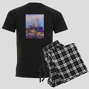 Coit Tower Men's Dark Pajamas