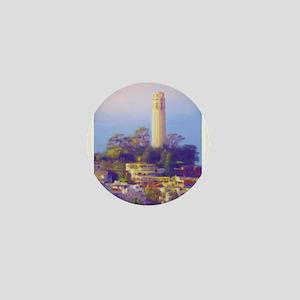 Coit Tower Mini Button