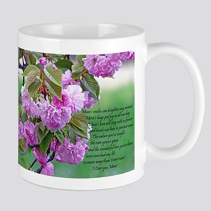 Mothers Day Poem Mugs