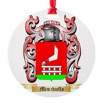 Minichiello Round Ornament