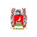 Mingucci Sticker (Rectangle 10 pk)