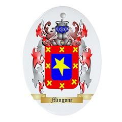Mingone Oval Ornament