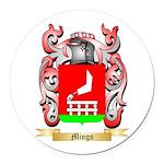 Mingo Round Car Magnet