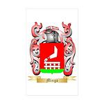 Mingo Sticker (Rectangle 50 pk)