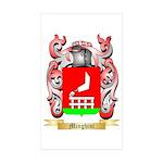 Minghini Sticker (Rectangle 10 pk)