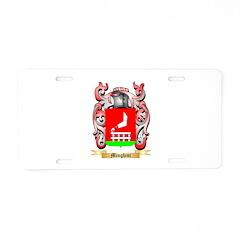 Minghini Aluminum License Plate