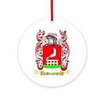 Minghini Round Ornament