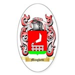 Minghetti Sticker (Oval 10 pk)