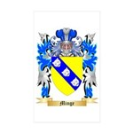 Minge Sticker (Rectangle 50 pk)
