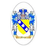 Minge Sticker (Oval 10 pk)