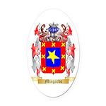 Mingardo Oval Car Magnet