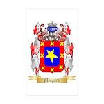 Mingardi Sticker (Rectangle 50 pk)
