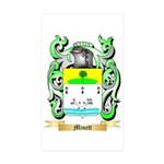 Minett Sticker (Rectangle 10 pk)