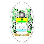 Minett Sticker (Oval 50 pk)
