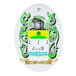 Minett Oval Ornament