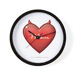 Mom Devil Wall Clock