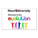 Neurodiversity Evolution Sticker