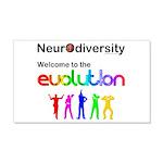 Neurodiversity Evolution Wall Decal