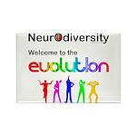 Neurodiversity Evolution Magnets