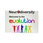 Neurodiversity Evolution Magnets