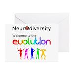 Neurodiversity Evolution Greeting Cards