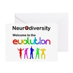 Neurodiversity Evolution Greeting Cards