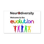 Neurodiversity Evolution Wall Decal