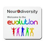 Neurodiversity Evolution Mousepad