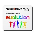Neurodiversity Evolution Mousepad