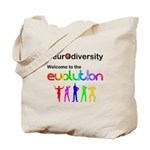 Neurodiversity Evolution Tote Bag