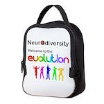 Neurodiversity Evolution Neoprene Lunch Bag