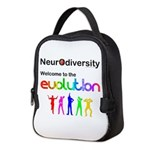 Neurodiversity Evolution Neoprene Lunch Bag