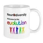 Neurodiversity Evolution Mugs
