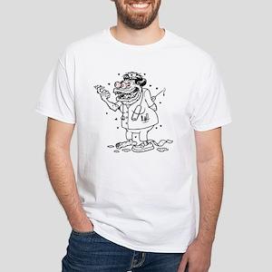 Monster Nurse White T-Shirt
