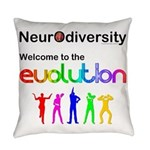 Neurodiversity Evolution Everyday Pillow