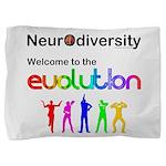 Neurodiversity Evolution Pillow Sham