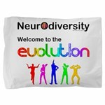 Neurodiversity Evolution Pillow Sham